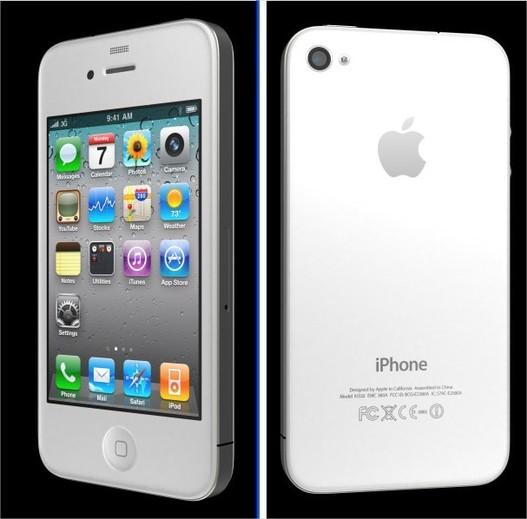 iPhone 4 blanc - Les photos officielles sont en ligne