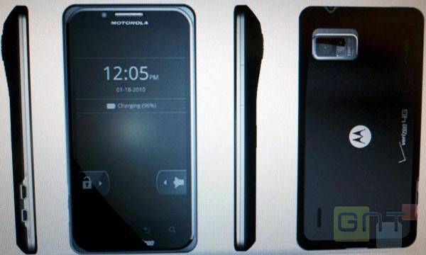 Les clichés des futurs Motorola Droid X2, Droid 3 et Targa ?