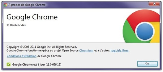 Google Chrome - Changement de logo