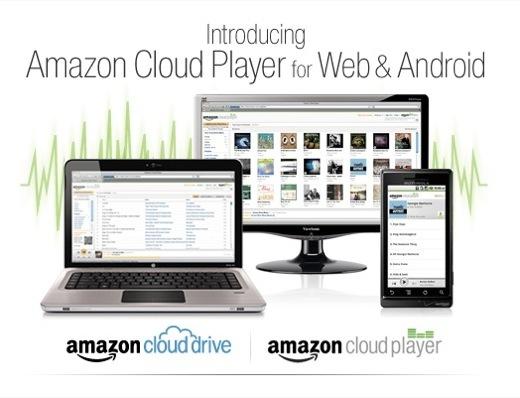 Amazon Cloud Player - Un nouveau service dans les nuages pour Android