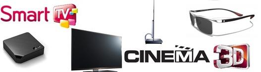 Des nouveautés chez LG avec Smart TV, Cinéma 3D et nouvelles lunettes