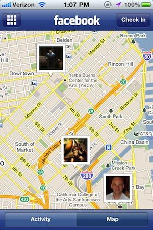 Facebook - L'application iPhone passe en version 3.4
