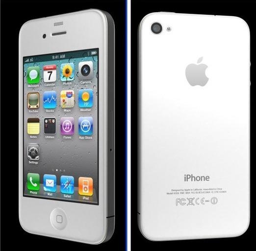 Vous vouliez un iPhone 4 blanc ? Dommage ...