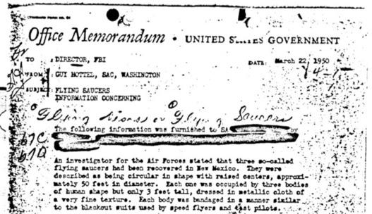 Roswell, Marilyn Monroe, Al Capone... Le FBI met des documents secrets en ligne