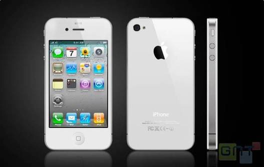Un iPhone 4 Blanc pour fin avril ?