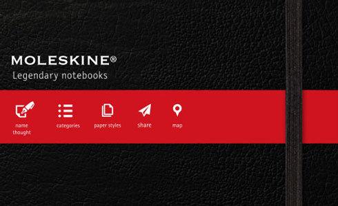 L'application Moleskine arrive en force sur iOS !