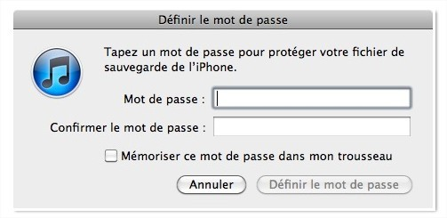 Eliminer le mouchard de l'iPhone