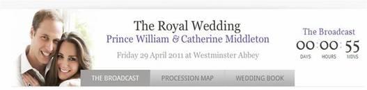 Suivez en direct le mariage de William et Kate comme si vous y étiez !