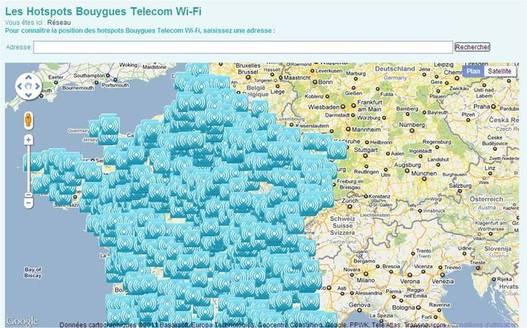 Bouygues lance officiellement son Wifi communautaire