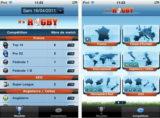 It's Rugby - L'application iPhone à posséder pour les passionnés de Rugby