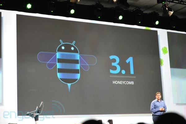 Google I/O - Android 3.1 annoncé !