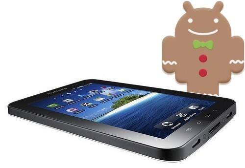 Android 2.3.3 bientôt pour la Galaxy Tab