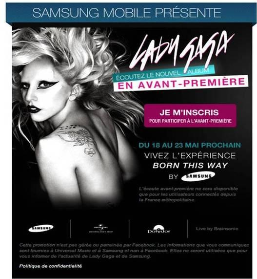 Ecoutez le nouvel album de Lady Gaga en exclu dès le 18 mai !