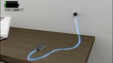 Cable USB Visible Green de Dexim pour une charge plus propre