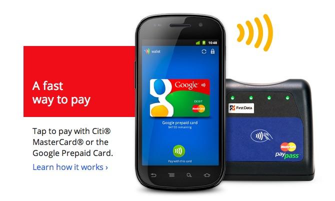 Google Wallet - Le paiement via NFC selon Google