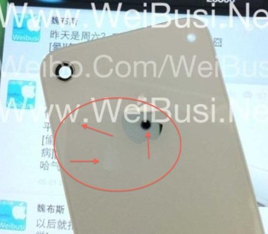 L'iPhone 5 démasqué dans une photo