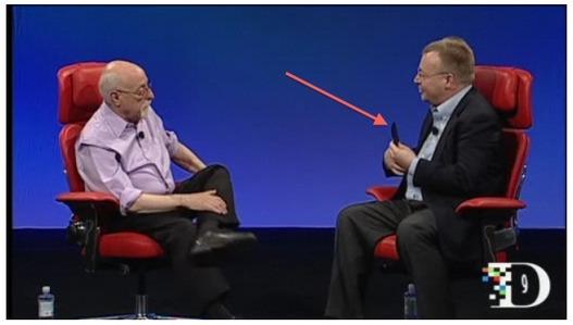 Un Nokia WP7 dans les mains de Stephen Elop ?