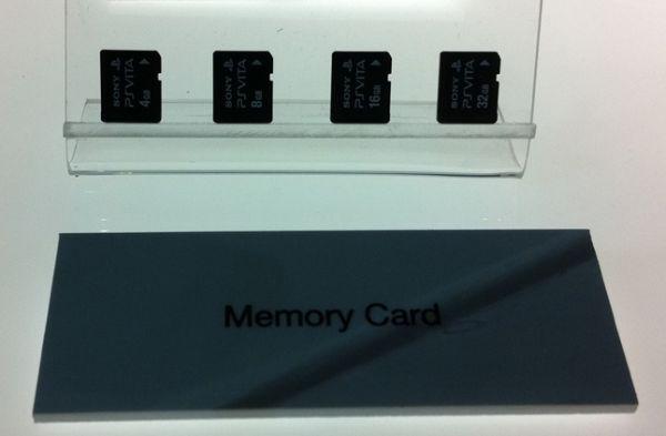 Nouvelle carte mémoire pour la Playstation Vita