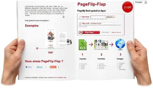 Le site de PageFlip-Flap