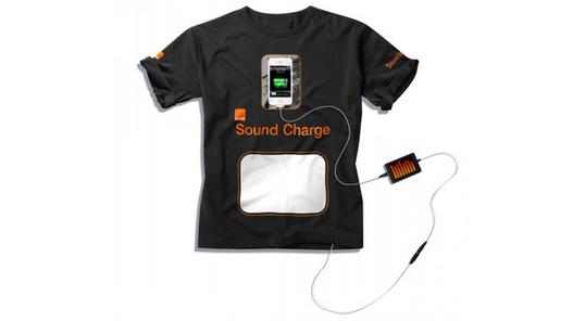 Orange Sound Charge - Recharger son smartphone grâce à de la musique