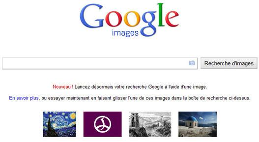 Google - La recherche par image est disponible