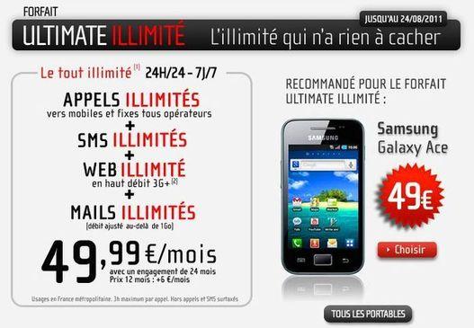 NRJ Mobile lance ses forfaits Ultimate illimité