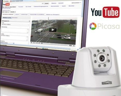 Marmitek commercialise la première caméra IP compatible Youtube