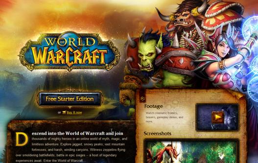World Of Warcraft devient gratuit ou presque