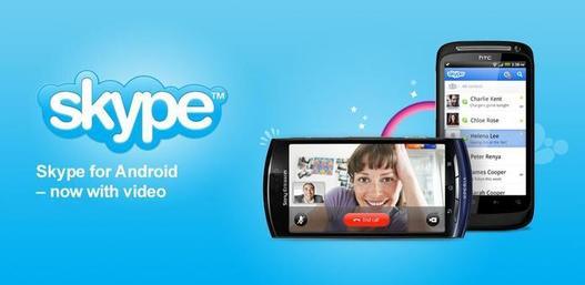 Skype lance la version 2.0 pour Android avec appels vidéo