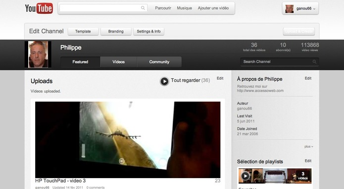 Youtube adopte un nouveau look