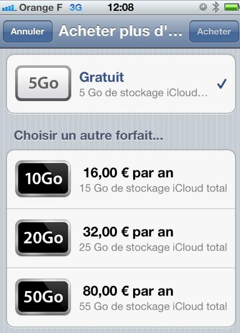 Apple iCloud gratuit ? Mais non c'est une blague
