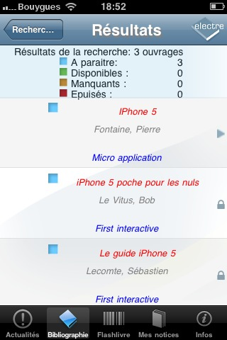 Des livres sur l'iPhone 5 sortiraient en octobre