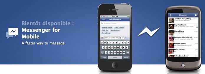 Facebook Messenger - Premiers tests