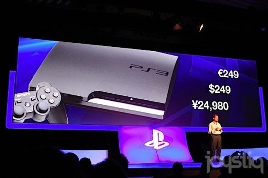 Gamescom 2011 - Sony baisse le prix de sa Playstation 3