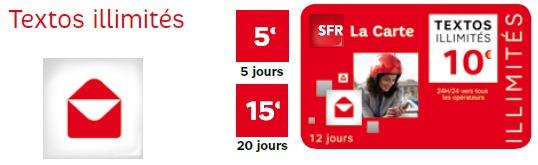 SFR enrichit son offre prépayée avec Voix illimité et SFR Wifi