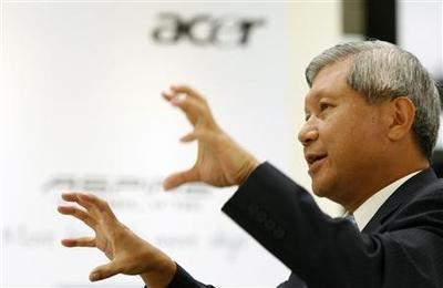 Economie: Acer voit rouge pour le second trimestre