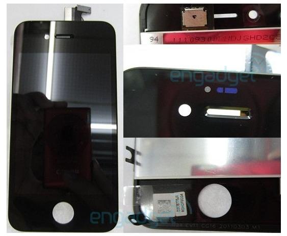 La façade de l'iPhone 5 ... ou de l'iPhone 4S