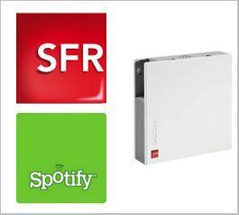 SFR Neufbox - Spotify Premium gratuit pendant 3 mois pour les nouveaux abonnés
