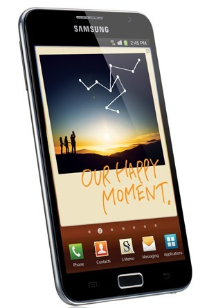 IFA 2011 - Samsung annonce le Galaxy Note, un hybride entre tablette et smartphone