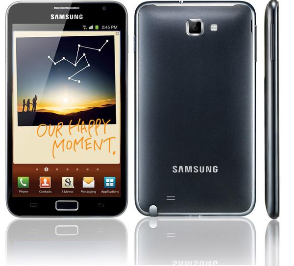 Le prix et la date de sortie du Samsung Galaxy Note