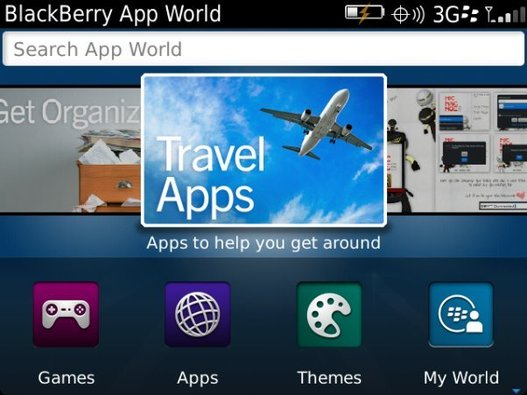 RIM lance la version 3.0 de son BlackBerry App World