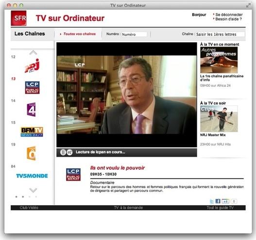 SFR - La TV sur Ordinateur pour Mac