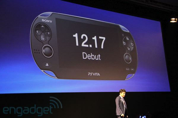 La Sony Vita sortira le 17 décembre au Japon