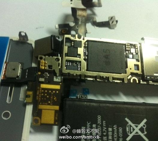 Un processeur A5 dans l'iPhone 5 ?