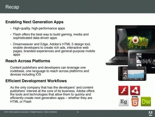 Adobe arrive avec de la 3D, Flash player 11 et Air 3