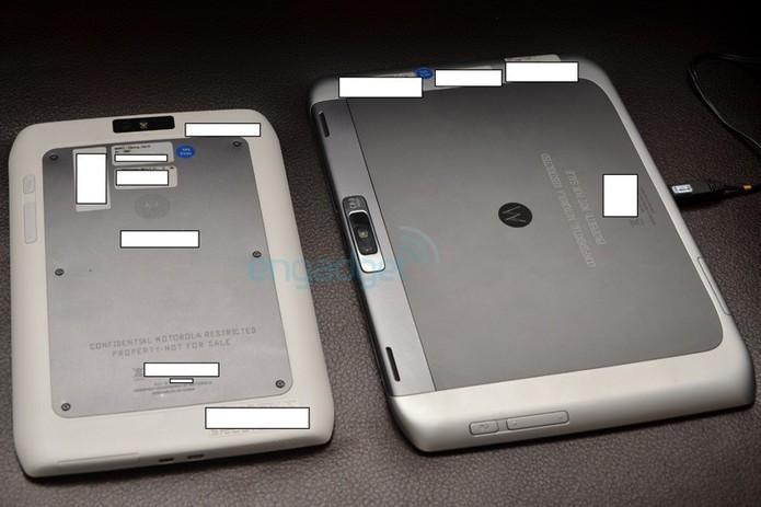 Des photos de la Motorola Xoom 2