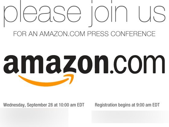 Que va annoncer Amazon le 28 septembre ? (Update)