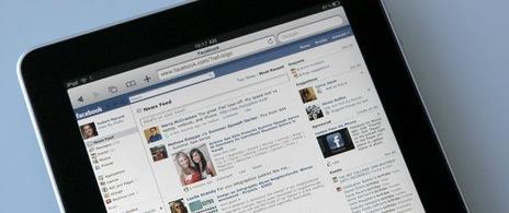 Apple - L'application Facebook pour iPad lors de la Keynote ?