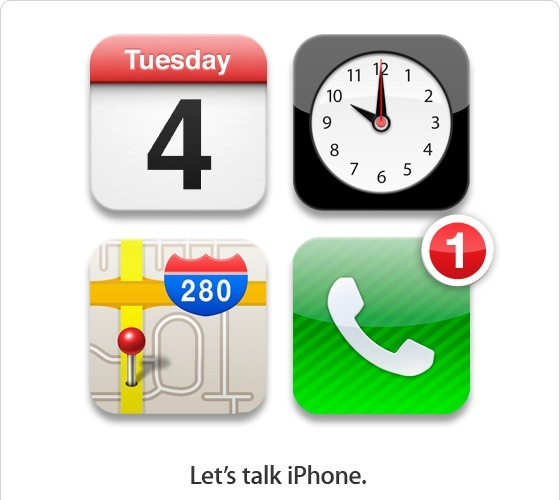 Keynote Apple le 4 Octobre : Let's Talk iPhone