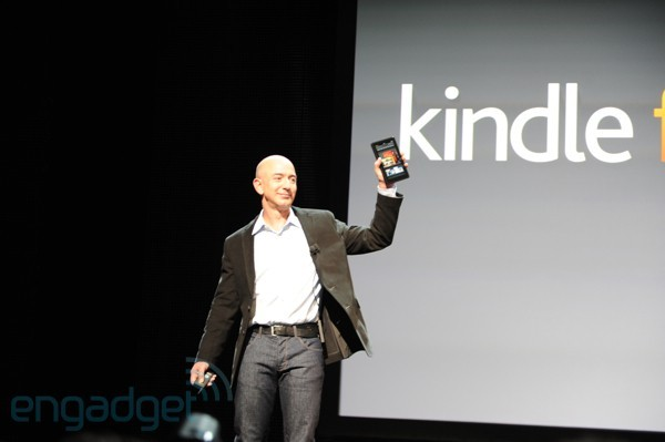 Amazon officialise le Kindle Fire et 3 autres tablettes